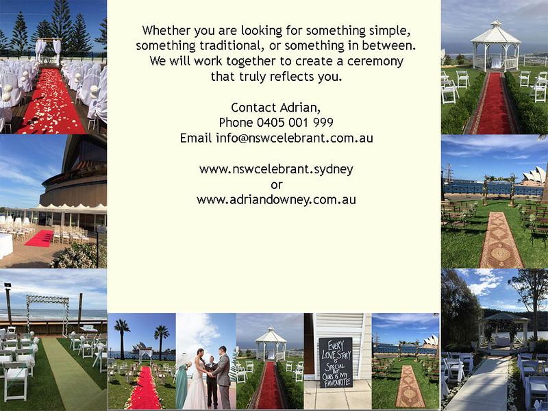 NSW Celebrant