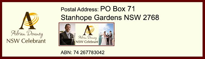 NSW Celebrant Contact