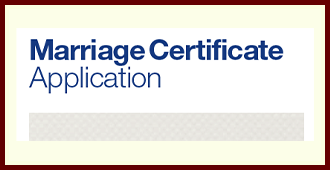 NSW BDM Marriage Certificate Application