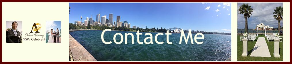 NSW Celebrant Contact Me